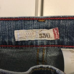 Misses 550 Relaxed fit Levi's